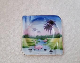 Vintage Florida Souvenir Small Ashtray