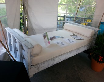 """Porch Swing: The """"Folly"""" Swing Bed -- FREE SHIPPING! (Bedswing)"""