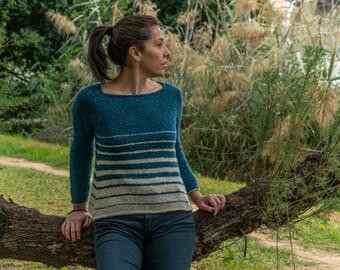 Almonaster Sweater Knitting Pattern