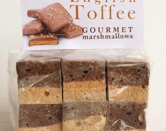 English Toffee Gourmet Marshmallows *Naturally Gluten Free!*