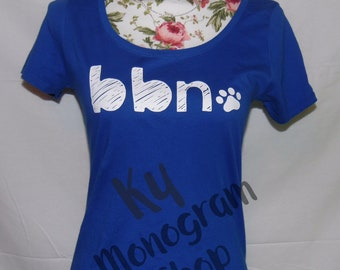 Kentuck Wilcats tshirt, big blue nation, bbn shirt, UK shirt