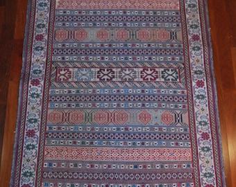 Persian Shiraki Pich Hand-woven Kilim Rug
