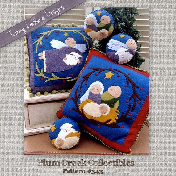 Joy Christmas Embroidery Pattern
