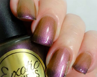 Raunchy Millionaire 3D Multi-Chrome Thermal Color Shifting Nail Polish