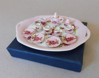 Miniature Doll Tea Set