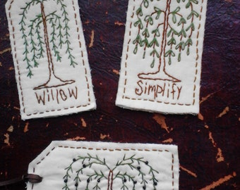 Primitive Willow tags