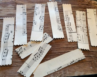 Vintage maps or sheet music handmade washi tape