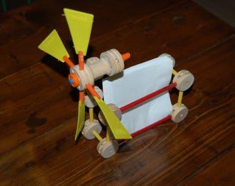 Vintage Tinker Toys Windmill Napkin Holder
