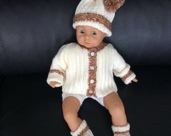 Crocheted Newborn Set