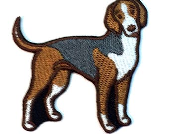 American Foxhound Iron on Patch No Name