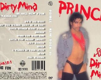 Prince Live Dirty Mind Tour 1981 Dvd Very Rare