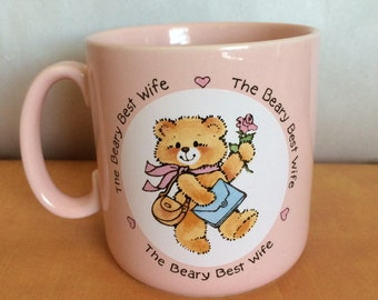 1985 The Beary Best Wife by Applause made in Japan