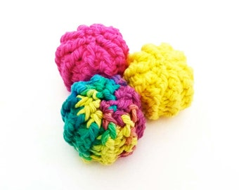 Kitty Jingle Bell Balls Cat Toys - Choose Your Colors
