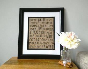 Coffee Lovers Print