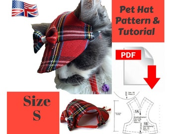 Cat Cable Hat Bulky Version