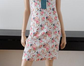 dress ALMATRICHI floral size 38 / uk 10 / us 6
