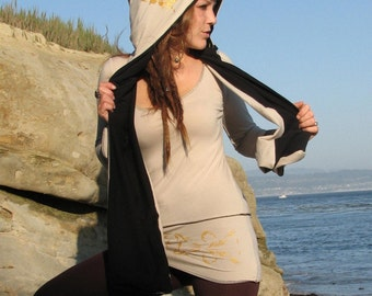 In The Hoodie Scarf, hooded scarf by Herban Devi