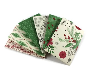 Christmas Gift card envelopes, Red and Green Christmas Gift Card Holder, Handmade envelopes, coin envelopes, money envelope, set of 6