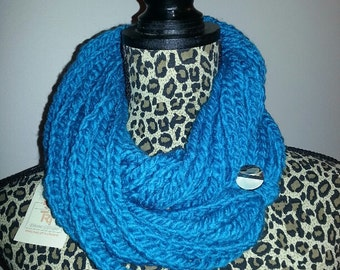 Crochet Chain Scarf (Ready to ship)