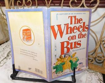 The Wheels on the bus Maryann Kovalski, Paper Back Book, Vintage Childs Book, Children's Book, Vintage book