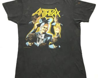 ANTHRAX vintage 1987 tour shirt - M/L