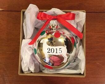 4-h Wether Goat 2016 Ornament, Meat Goat Ornament, Goat Ornament