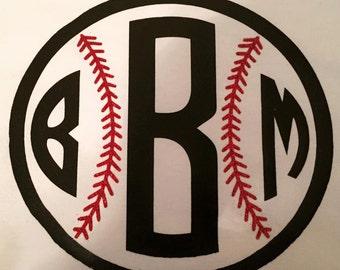 Baseball Raglan with Glitter Stitch