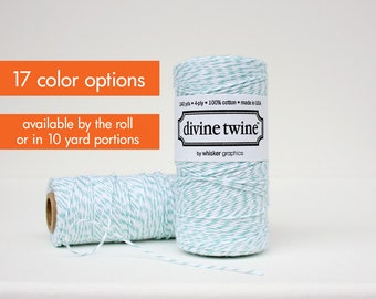 Baker's Twine - Craft Twine - Bakers Twine by the roll or 10 yard portions