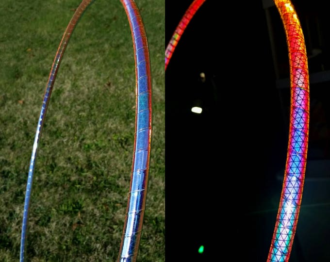 Spectrum High Intensity Color Shifting Reflective Performance Polypro Hula Hoop 3/4 or 5/8 This is not an LED Hula Hoop
