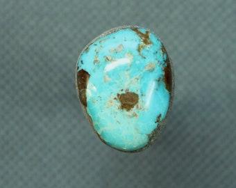 Turquoise cabochon  Kingman mine,  A-22
