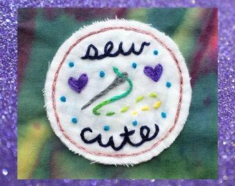 Sew Cute Patch