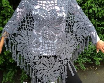 Summer Poncho Crochet Pattern