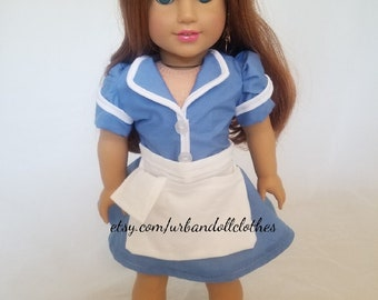 Waitress Outfit for 18-Inch Doll