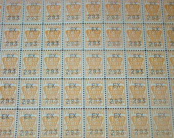 SALE 100 Vintage Trading Stamps For the 12th Street Store