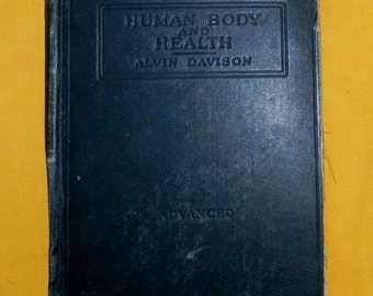 Human Body and Health Hardcover – 1908 1A