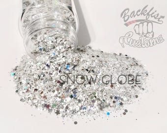 SNOW GLOBE || Chunky Mix, Solvent Resistant