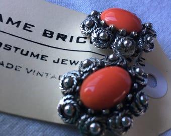 Vintage Elizabeth Reimer | Arcansas clip on earrings.