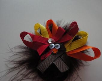 Cute Turkey Hair Bow