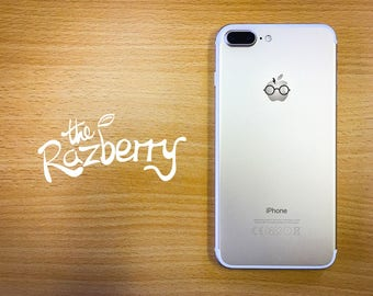 Wizard with Scar iPhone Decal Sticker iPhone 6S Sticker iPhone 7 Plus Decal Witchcraft Sticker Wizardry Smartphone Apple Film Inspired Decal