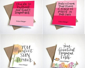 """Galentine's Card Set 