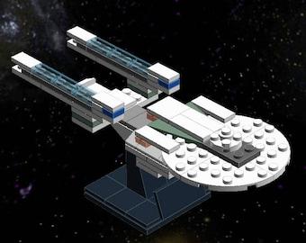 Star Trek Uss Enterprise Parody Painting Print Poster Canvas