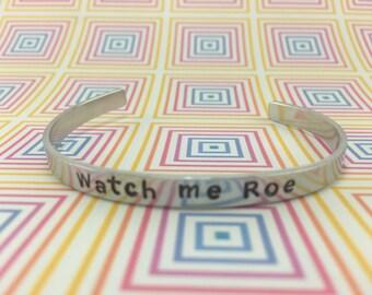 LuLa Love Bracelet - Watch me Roe - bracelet - Love LuLa - Lula Bangle - Cuff Bracelet - Personalized Bracelet