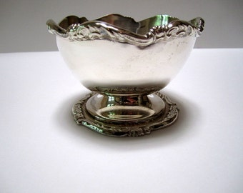 Vintage Sterling Silver Bowl Candy Nut Made in Peru Industria Peruana