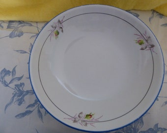 1980s footed dish or comport