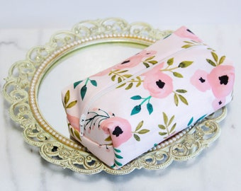 Rose Makeup Bags, Floral Makeup Bag, Pink Makeup Bags, Bridesmaid Gift, Bridal Party Gifts, Maid of Honor Gift, Mother's Day Gift
