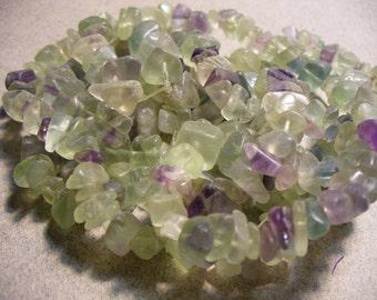 Rainbow Fluorite Chips Gemstone 6 to10MM
