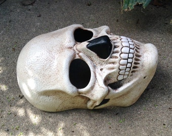Death Mask skull latex mask for costume, cosplay, LARP