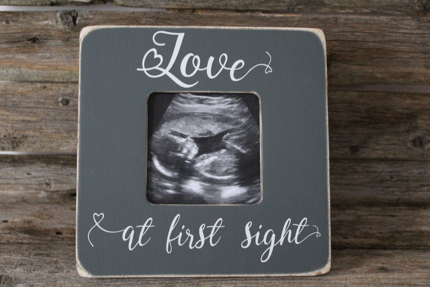 Love at first sight frame ultrasound picture frame gender reveal 2000 jeuxipadfo Images