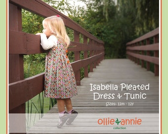 Ollie and Annie Collection Isabella Dress and Tunic PDF Pattern