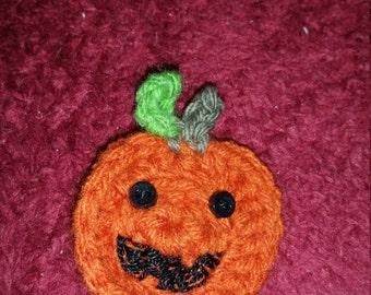 Jack-O-Lantern Pumpkin Hairclip